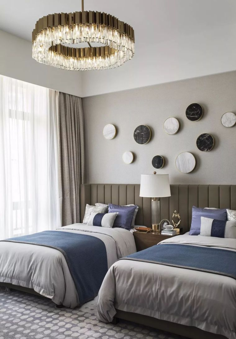 240㎡珍稀优雅豪宅软装设计,创造引领新都市的优质生活空间!_20