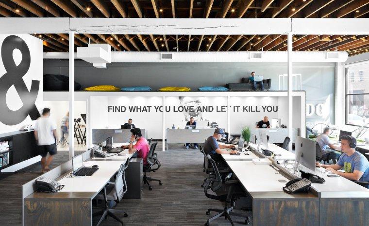 美国HDG建筑设计公司办公空间-1