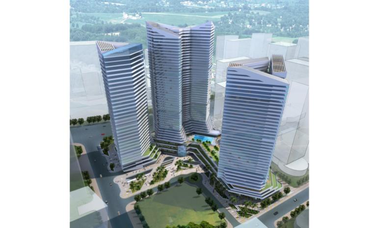 [广东]广州珠江新城商业综合体建筑设计方案文本