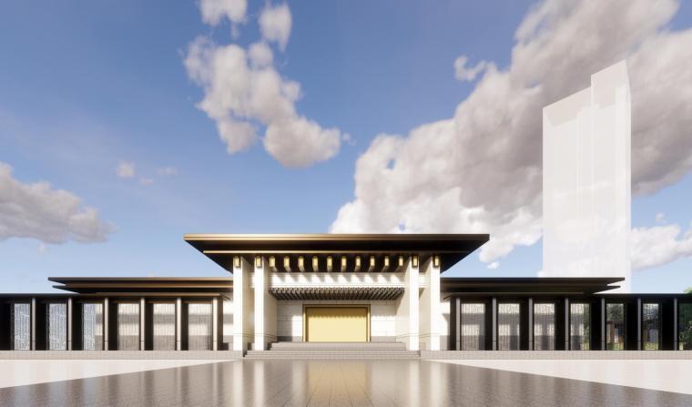 [广东]佛山泰禾院子示范区建筑模型设计(中式风格)