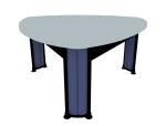 简单会议桌3D模型下载