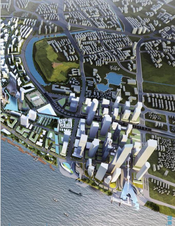 [江苏]滨江项目城市设计概念方案国际征集作品_1