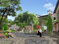 [广西]滨水特色古镇石板小巷历史文化街区景观规划设计方案