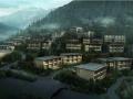 [安徽]新中式双坡屋顶知名酒店改造建筑设计方案文本