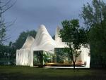 异形休闲建筑3D模型下载