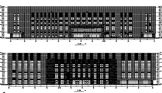 [安徽]某体育学院综合训练馆全专业施工图(含暖通、结构等)