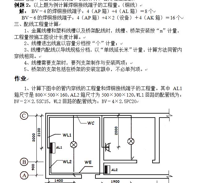 安装工程识图算量及工程造价-电气专业_2