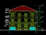 四层生态庭院农居设计方案