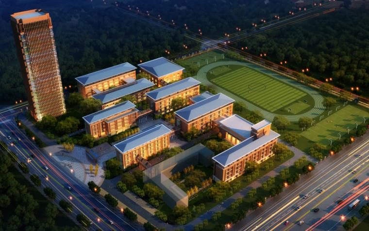 成都龙泉驿区第九中学规划与建筑设计文本