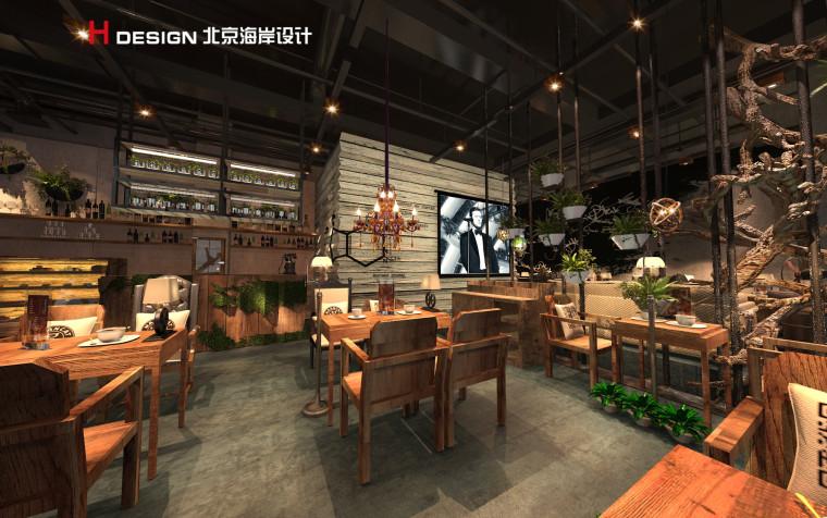 归本主义设计作品—上海漫猫咖啡馆设计案例_2