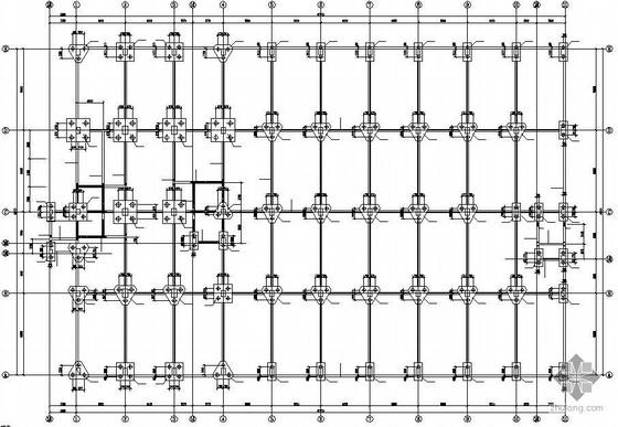6°区某4层混凝土框架结构厂房全套施工图
