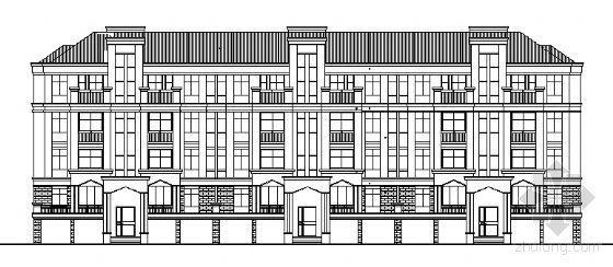 某四层复式别墅建筑施工图