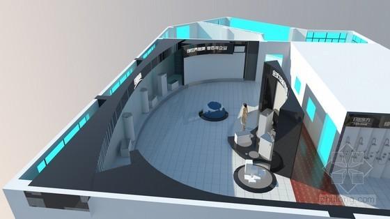 某太阳能热力公司展厅设计方案