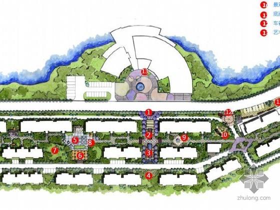 湖北社区住宅景观设计方案