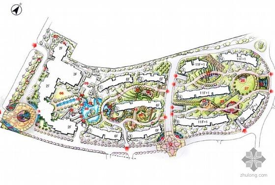武汉居住区景观设计文本