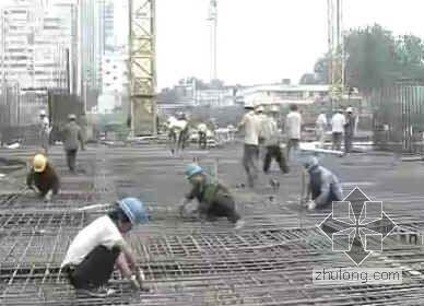 钢筋工绑扎钢筋施工介绍(视频)