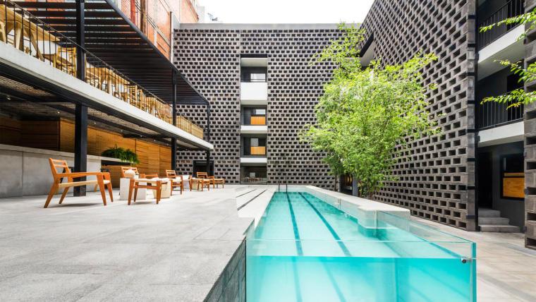 中和的艺术:混凝土中的绿色空间