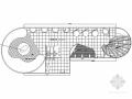 现代风格电脑展示空间是设计CAD施工图(含效果)