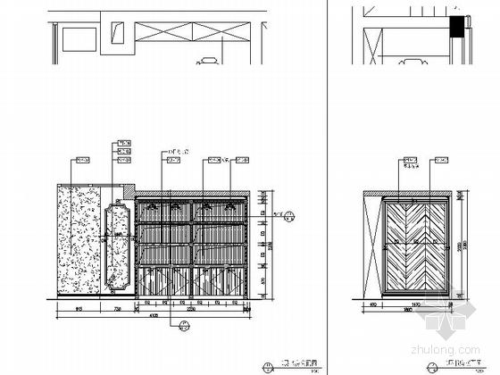 [杭州]220平方古典风格双层别墅室内装修图(含实景) 书房立面