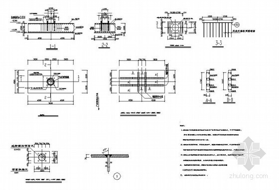 某钢结构广告牌结构施工图