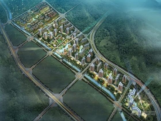 [北京]大型住宅区规划方案设计文本