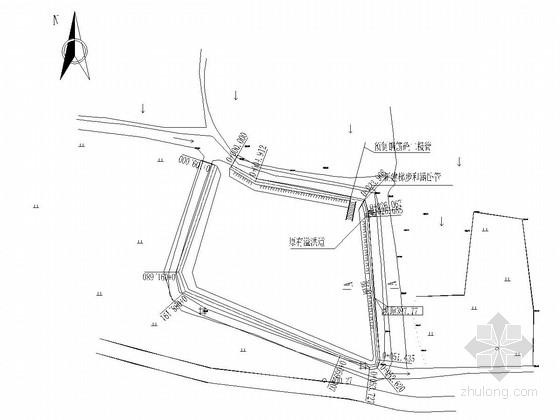 [四川]小型农田水利综合工程施工图(渠道 山坪塘 泵站)