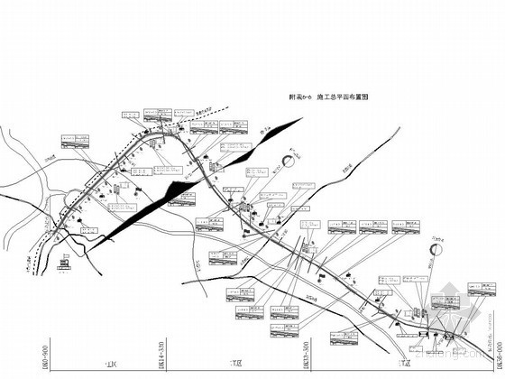[黑]季节性冻土区50km铁路客运专线站前工程投标技术标384页(路桥涵轨道)