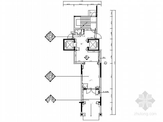 [广东]精品住宅首层大堂及电梯厅竣工图