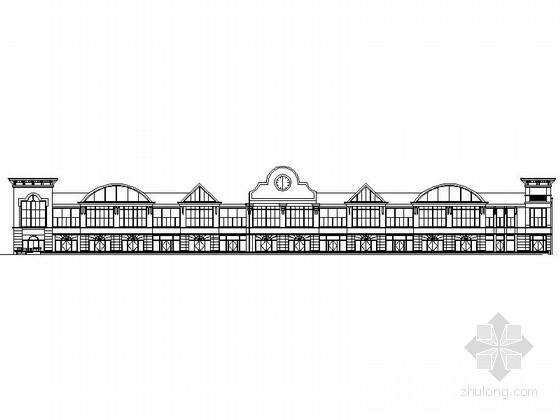[毕业设计]欧式风格3层沿街商业楼建筑施工图