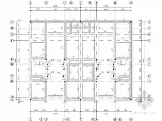 两层砖混住宅结构施工图