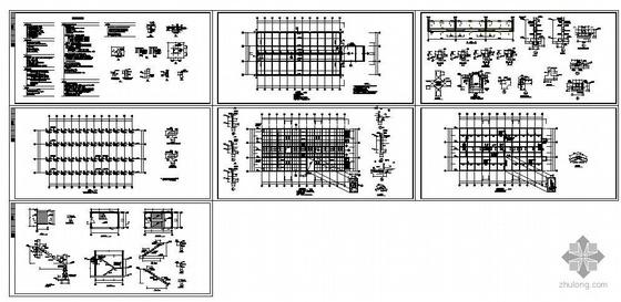 某两层半地下车库结构图