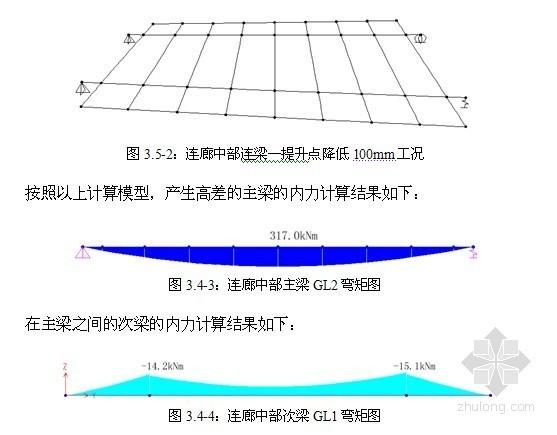 [北京]连廊钢结构整体提升方案(千斤顶)