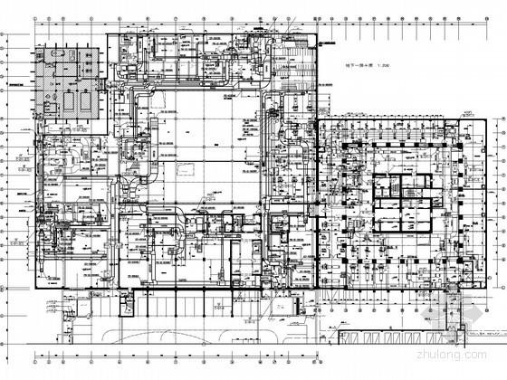 [苏州]国际中心暖通空调设计施工图纸(174米、含动力设计)