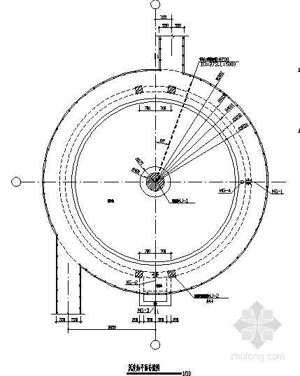 圆形沉淀池节点构造详图