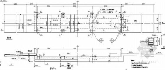 汽车衡基础节点构造详图