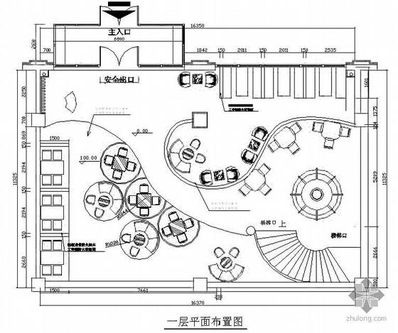 1000平米会所式西餐厅方案