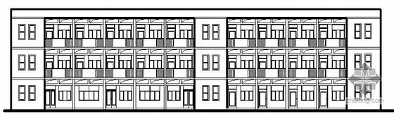 [陕西省志丹县]某镇三层中心小学宿办楼建筑电气施工图