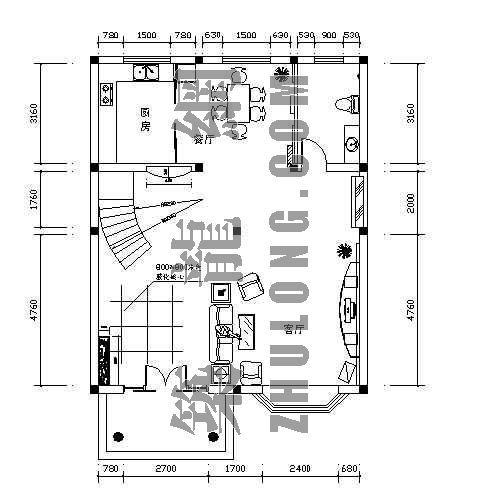 某三层别墅装修图