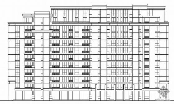 [杭州]某十八层住宅楼群建筑施工图(含地下车库)