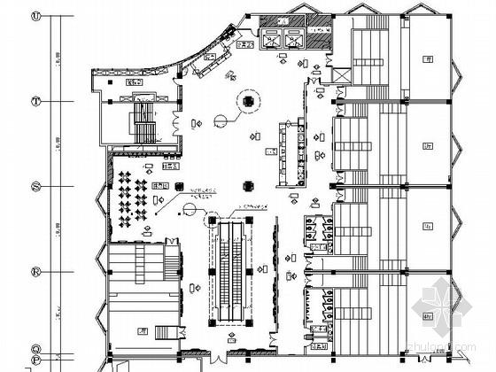 [江苏]某购物广场星级影院室内装修竣工图