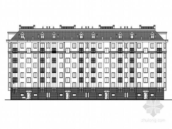 [潍坊]某五层现代简约住宅楼(7号楼)建筑施工图