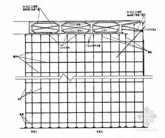 山地城市现浇箱梁满堂支架关键施工技术70页(硕士)