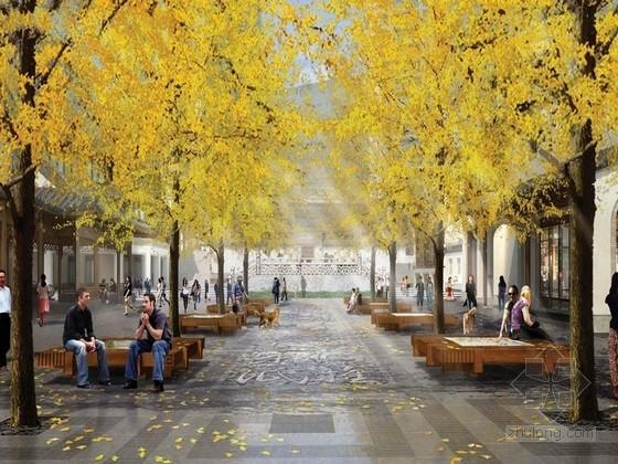 [浙江]江南山水风情商业步行街规划设计方案