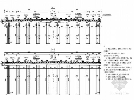 [安徽]城市道路T梁桥及管涵工程施工图设计92张