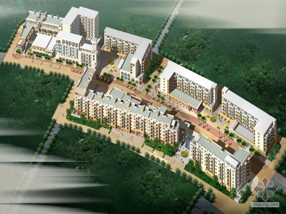 [成都]某城市花园住宅小区建筑方案文本及CAD扩初