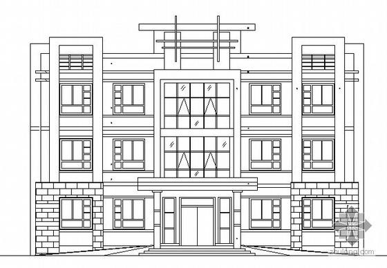 [惠阳]某三层办公楼建筑施工图