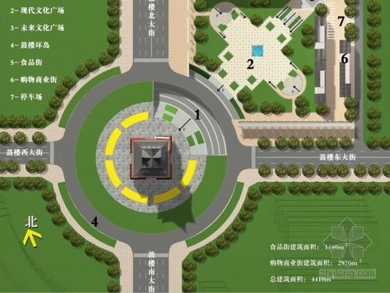 [山西]临汾文化广场景观设计方案
