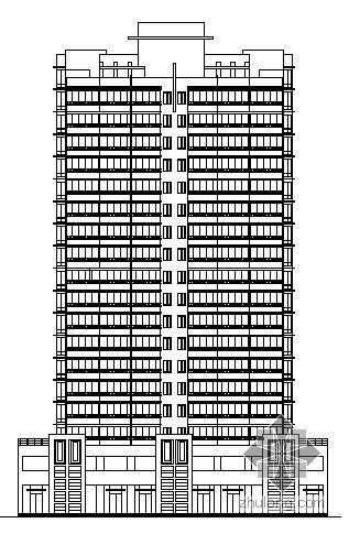 某十九层塔式公寓建筑施工图