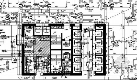 超高层办公楼通风空调系统设计施工图(蓄冰空调冷源)