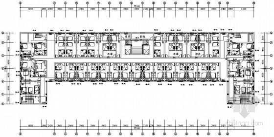 [济南]快捷酒店散热器采暖设计施工图